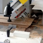Cutting and drilling door frames