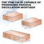 Different kind of oscillation mortisers